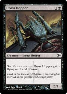 Dross Hopper Magic Card