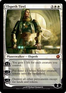 Elspeth Tirel Magic Card