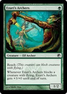 Ezuri's Archers Magic Card