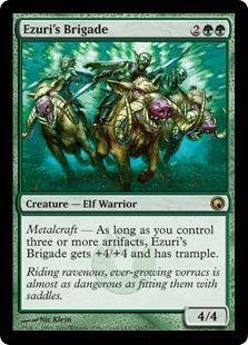 Ezuri's Brigade Magic Card
