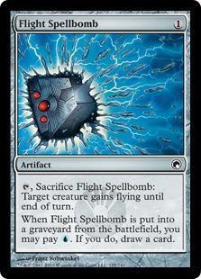 Flight Spellbomb Magic Card