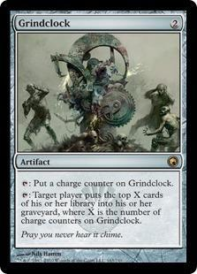 Grindclock Magic Card