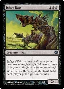 Ichor Rats Magic Card