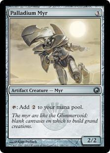 Palladium Myr Magic Card