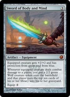Sword of Body and Mind Magic Card