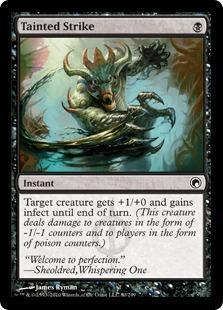 Tainted Strike Magic Card