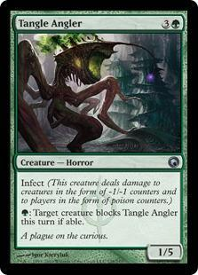 Tangle Angler Magic Card