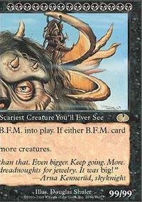 B.F.M. (Big Furry Monster) - Right Magic Card