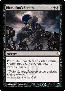 Black Sun's Zenith Magic Card