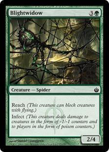 Blightwidow Magic Card