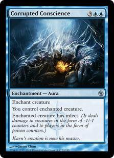 Corrupted Conscience Magic Card