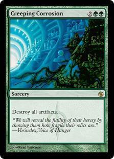 Creeping Corrosion Magic Card