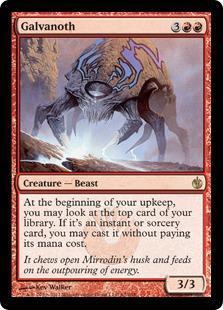 Galvanoth Magic Card