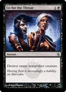 Go for the Throat Magic Card
