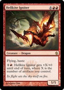 Hellkite Igniter Magic Card