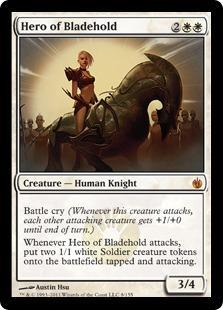 Hero of Bladehold Magic Card