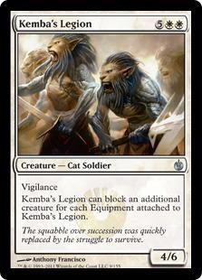 Kemba's Legion Magic Card