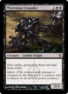 Phyrexian Crusader Magic Card