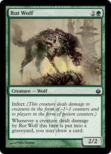 Rot Wolf Magic Card
