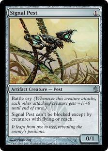 Signal Pest Magic Card