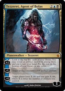Tezzeret, Agent of Bolas Magic Card
