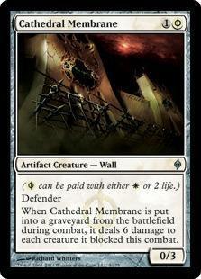 Cathedral Membrane Magic Card