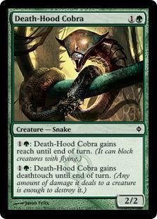 Death-Hood Cobra Magic Card