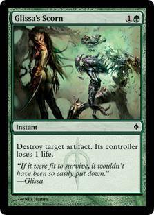 Glissa's Scorn Magic Card