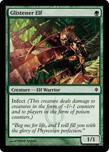 Glistener Elf Magic Card