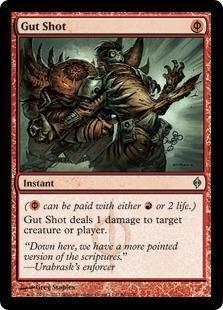 Gut Shot Magic Card