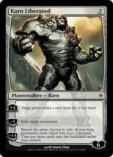 Karn Liberated Magic Card