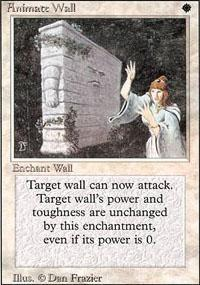 Animate Wall Magic Card