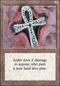 Ankh of Mishra Magic Card