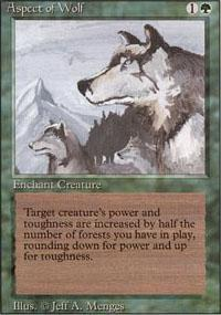 Aspect of Wolf Magic Card