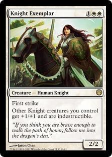 Knight Exemplar Magic Card