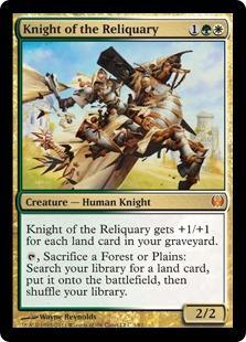 Knight of the Reliquary Magic Card
