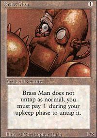 Brass Man Magic Card