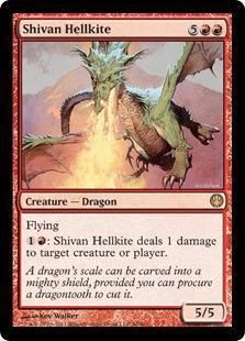 Shivan Hellkite Magic Card