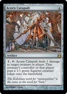 Acorn Catapult Magic Card