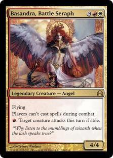 Basandra, Battle Seraph Magic Card