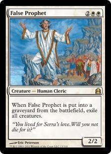 False Prophet Magic Card