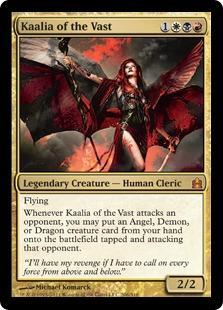 Kaalia of the Vast Magic Card