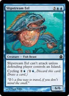 Slipstream Eel Magic Card