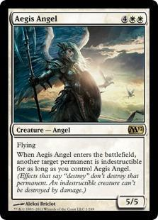 Aegis Angel Magic Card