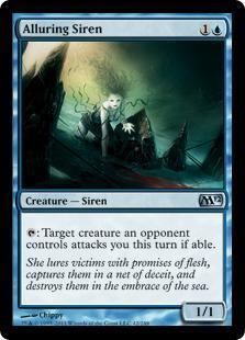 Alluring Siren Magic Card