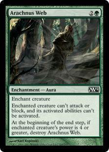 Arachnus Web Magic Card