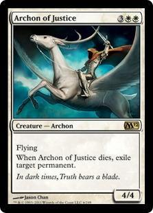 Archon of Justice Magic Card