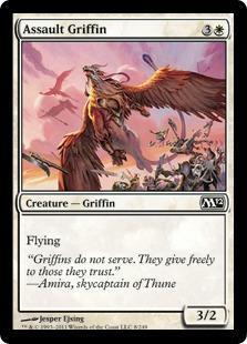 Assault Griffin Magic Card