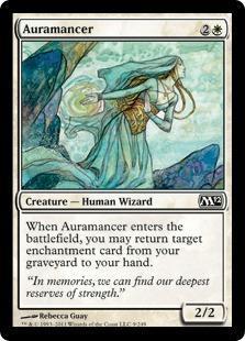 Auramancer Magic Card