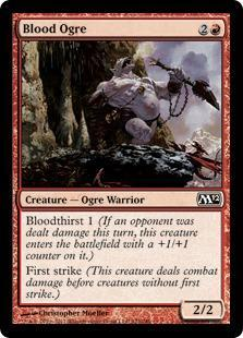Blood Ogre Magic Card